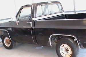 GMC Project short bed pick up