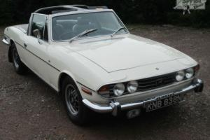 Triumph Stag MK2 Auto 1974 Photo