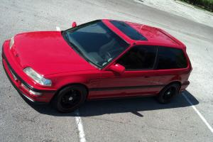 1989 Honda Civic Si Hatchback 3-Door 1.6L Turbo DOHC ZC JDM Civic SiR Conversion
