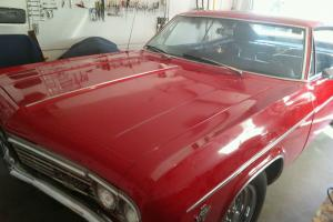 1966 Chevy Impala machine numbers original miles