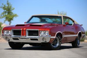 DOCUMENTED CONCOURS QUALITY 1971 OLDSMOBILE 442 W-3O 1 OF 563 PRODUCED SHOW CAR