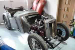 MG TA Restoration Project 1938 - Rebuilt Engine