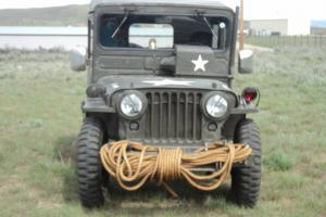 1951 US Army Jeep Willys Military Original Overland Jeep Arctic Top Extras