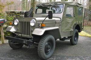 1977 Jeep Mitsubishi CJ-3B   ( Willys CJ-3B)