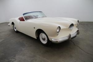 1954 Kaiser Darrin, white with red interior,great paint, Very rare, same owner