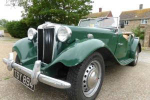 MG TD Sport 1952 Photo