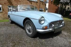 MG MGB Roadster 1963 Photo