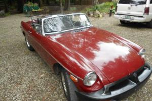 1976 MGB CLASSIC ROADSTER  RARE FIND!! Photo