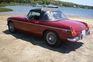 restored 1973 mgb Photo