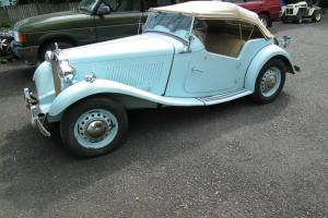 1951 MG TD Base 1.3L Photo
