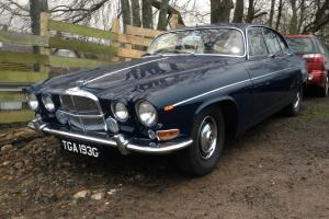 JAGUAR 420G 1968 indigo blue  Photo