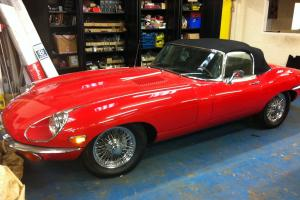 Jaguar E Type 4.2 1971 Roadster restored LHD 13000mls service history  Photo