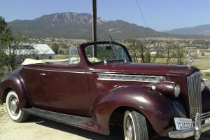 1940 Packard 110 convertible coupe