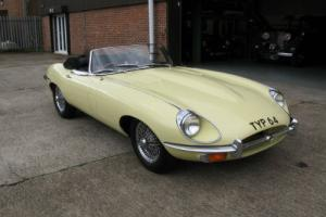 1970 Jaguar E-Type SII Roadster