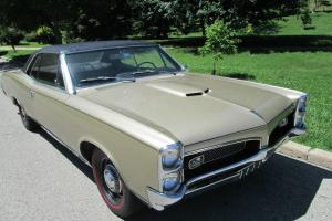 1967 GTO # 400,4Spd,PosiOne Owner,95,000 original mile car