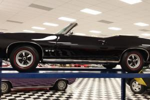"""BLACK Ram IV CONVERTIBLE GTO """"One of 45"""" 4 speeds number 1 condition!"""