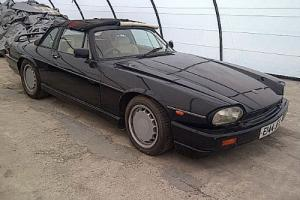 Jaguar XJSTWR Convertible.  Photo
