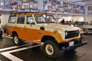 1970 Toyota  FJ55 Cruiser 4-speed Manual Original Factory Specifications
