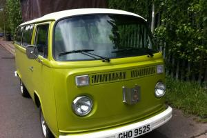 VW Bay Window 1978 1.6 Twin Port Air Cooled Camper Volkswagen