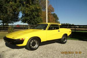 1976 Triumph TR-7 Hardtop RARE British Sportscar Photo