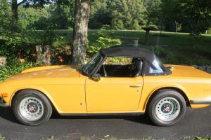 1971 Triumph TR6 Convertible Photo