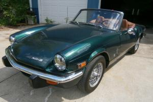 1972 Triumph Spitfire MK IV -  All Original - British Racing Green Beige 2 Door Photo