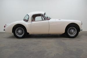 MGA Coupe 1960 near concours mot and tax exempt  Photo