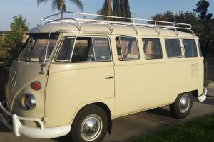 1975 vw volkswagen 15 windows imported bus type 2  NOW IN LOS ANGELES