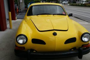 1974 Yellow Excellent Condition Volkswagen Karmann Ghia Coupe