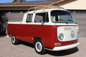 VW Volkswagon Pickup Bus Double Cab Restored 1600