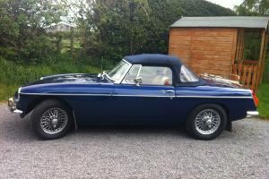 MGB Roadster Heritage Shell Tax Exempt Overdrive  Photo