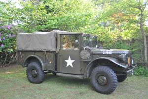 Dodge M37 Military Truck Vehicle 3/4 Ton 1951