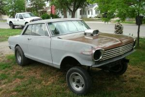 1963 Chevy ll gasser, Rat Rod, Hot Rod, Project, Barn Find