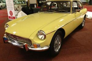 1968 MGBGT MKI Primrose Yellow L/H/D Photo