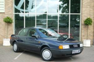 Audi 80 S. 1 OWNER AND ONLY 25,000 MILES FROM NEW.