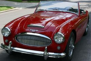 FRAME OFF RESTORED - 1962 Austin Healey Mark II Roadster - 100 MI Photo