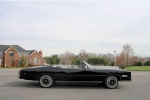 "1976 Cadillac ElDorado Convertible!  leather seats 425 Series"" Turbo Hydra-Matic"