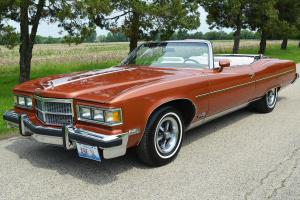 "22,000 mile 1 owner from new. MINT! Hi option 455 V8. The ""Cadillac"" of Pontiac"
