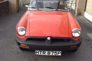 Mgb gt roadster 1975 convertible  Photo