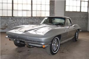 1963 Chevrolet Corvette Roadster Fuelie-Numbers Matching, 4-Spd, Fuel Injection