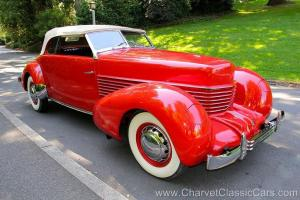 "1936 Cord 810 RHD Phaeton. ""The Maharajah's Daughter"" car. SEE VIDEO"