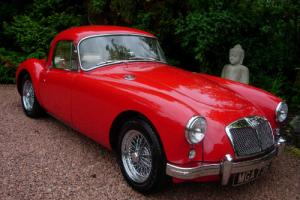 MGA coupe V8 yes V8 nasty boy totally stunning