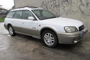 Subaru Outback Limited 4D 5 SP Manual in Niddrie, VIC