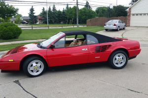1988 Ferrari Mondial Cabriolet 26,000 miles Check This Out!!!