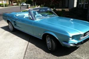 Beautiful 1967 Convertible Ford Mustang