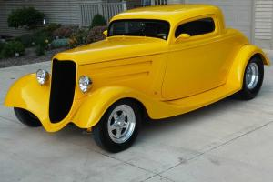1933 Ford Coupe Built by Outlaw Performance in PA 700 HP!