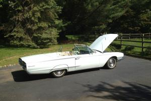 1966 Thunderbird Convertible with 428 A/C 37K  leather p/w like new top