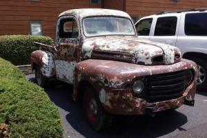 1948 Ford F1 Truck All Original Numbers Matching Truck Flathead V6  Asheville,NC