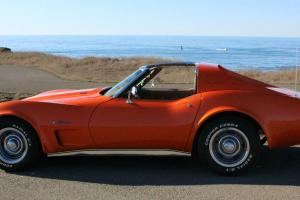 1974 Chevrolet Corvette Stingray Numbers Matching Big Block 4 Speed Rare Car