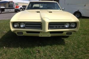 1969 Pontiac GTO numbers match Hardtop Coupe Photo